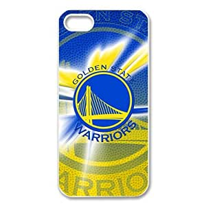 Stylish Design NBA Golden State Warriors Club Team Logo High Quality Protective Durable Back Case Laser Cover Shell for iPhone 5/5S-4