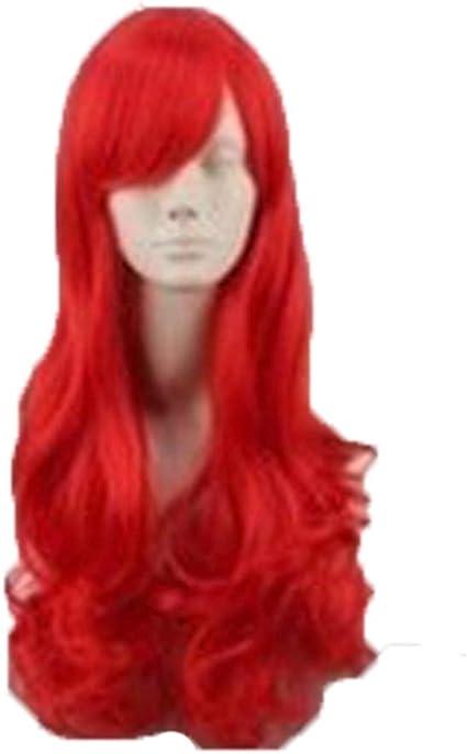 Peluca de Ariel de la Sirenita Viahwyt, peluca de cosplay ...
