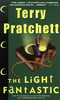 the light fantastic discworld - The Color Of Magic Book