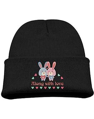 Along With Love Cartoon Kid Beanie Warm Hats