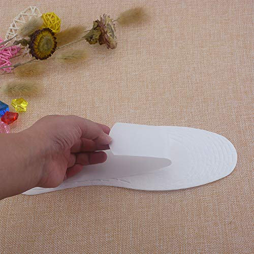 Wowlife 5/10/20 Pairs Disposable Breathable Thin Insoles Barefoot Insoles for US Size 6-9 (20 Pairs) by Wowlife (Image #6)