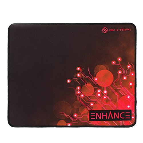 Mouse Pads ENHANCE GX-MP1 Red Gaming Mouse Pad XL with Low F