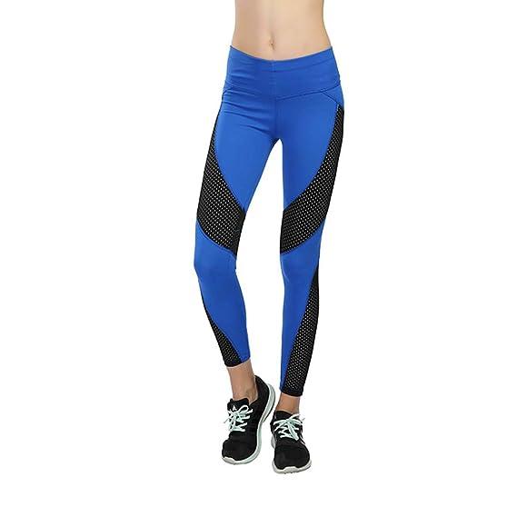 AICONL Pantalón Deportivo de Mujer, Mallas para Running ...