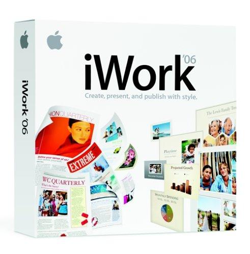 Apple-iWork-06-Mac-DVD-OLD-VERSION