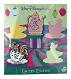 Trading Pin - WDW - Annual Passholder Quarterly - Alice in Wonderland Teacups - Mad Hatter and March Hare
