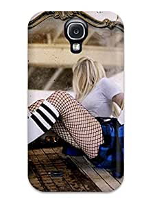 For JmDBraly Galaxy Protective Case, High Quality For Galaxy S4 Celebrity Avril Lavigne Skin YY-ONE