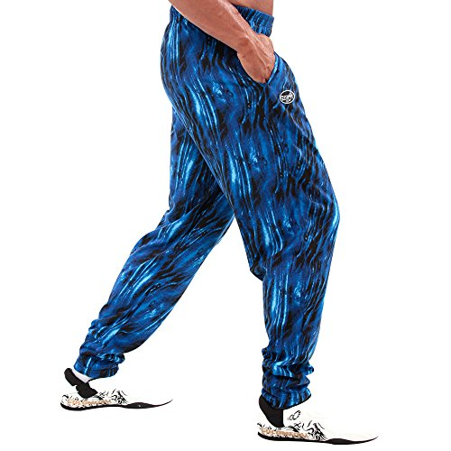 Otomix Men's Baggy Bodybuilding Workout Pants Ocean (Large)]()