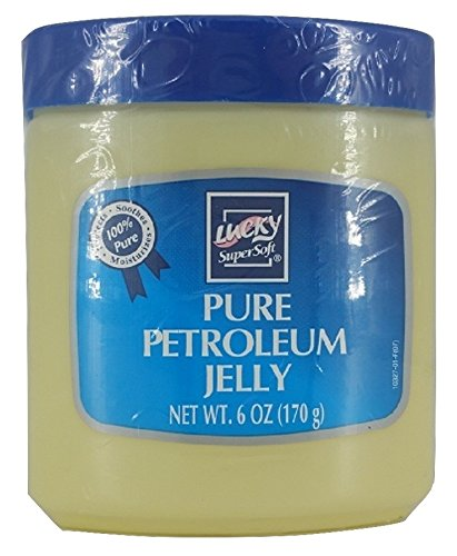 Lucky Petroleum Jelly (Lucky Super Soft Pure Petroleum Jelly 6 OZ (12 pack))