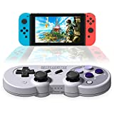 8Bitdo SN30 Pro Controller,8Bitdo SN30 Gamepad for Nintendo Switch,Windows,macOS,Android,Steam,Raspberry Pi