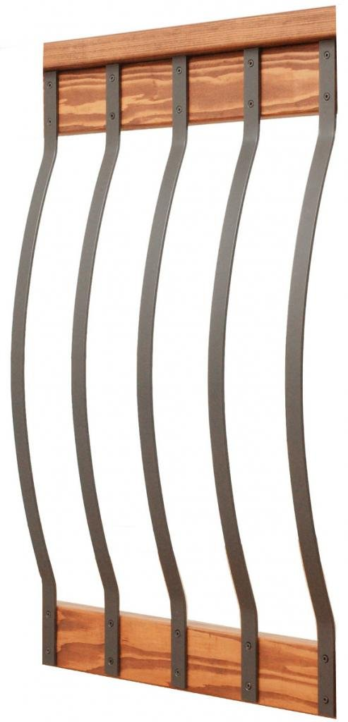 Ultimate Bow Baluster 32-1/4 Charcoal (Grey) Smooth- 5 Pack