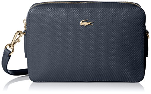 Lacoste Square Crossover Bag, Nf2068ce, Peacoat by Lacoste