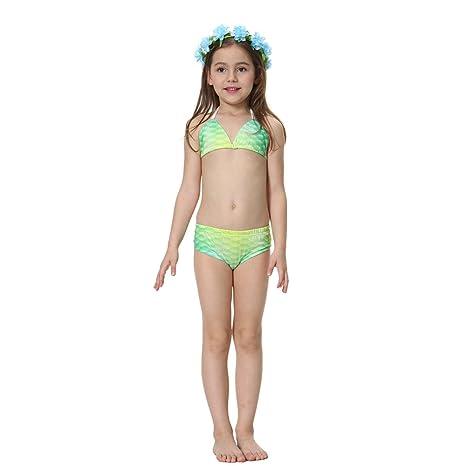Qin Traje de baño de Sirena de Sirena Bikini de Sirena Traje ...