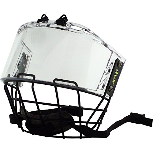 Alkali Quantum Hockey Helmet Cage & Shield Combo (Senior)