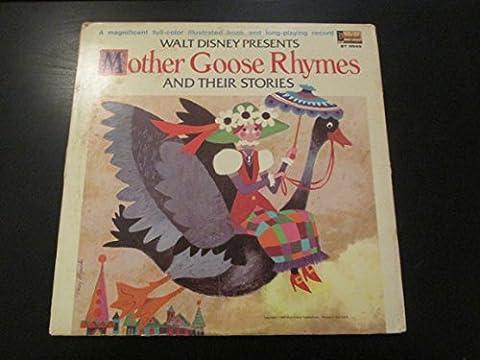 Mother Goose Nursery Rhymes - Disney Cinderella Album