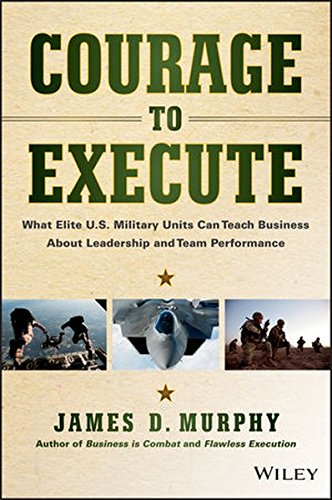 Courage Execute Military Leadership Performance