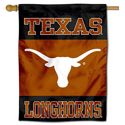 (College Flags and Banners Co. Texas Longhorns Banner House Flag)