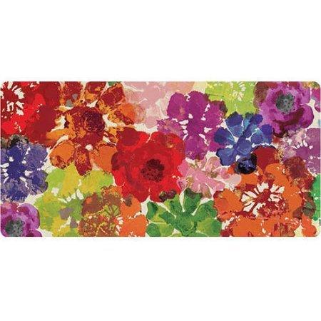 Comfort Mat Anti-fatigue Mat Floral Burst