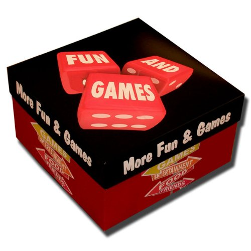 Games Galore! Fun Game and Snack Gift Package