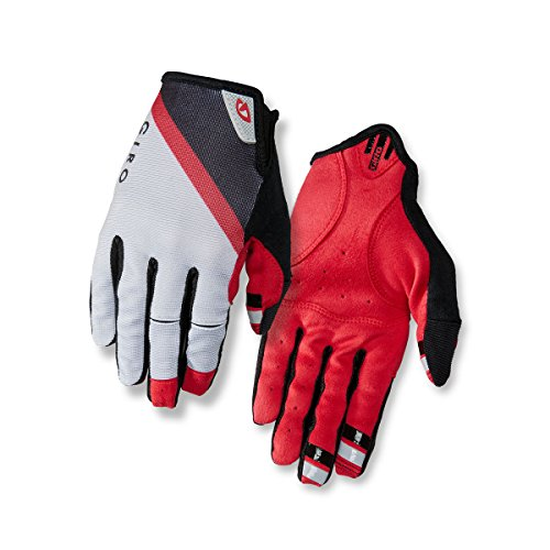Giro DND guantes Gray/Dark Red/Black