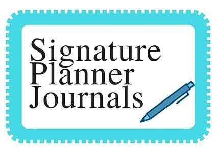 Signature Planner Journals