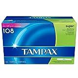 super absorbent tampons - Tampax Super Tampon (108 ct.)