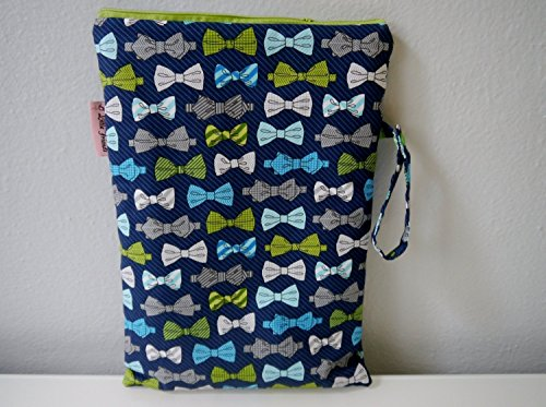 Wet Dry Bag for Cloth Diaper and Swimsuit by Emmi & Eli Baby Boutique