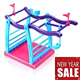 Interactive Baby Monkey Climbing Stand Jungle Gym Playset...