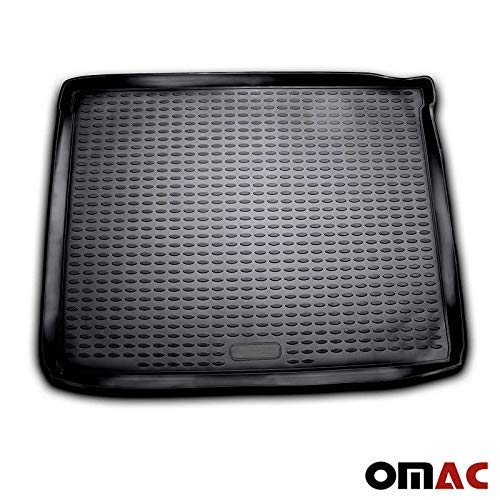 (OMAC USA Custom Fit All Weather 3D Molded Black Rubber Cargo Liner Trunk Mat Waterproof Protector for Dodge Nitro 2007-2011 Models)