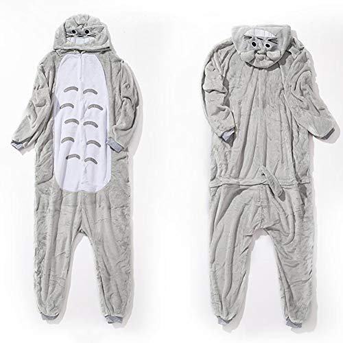 Halloween Biancheria Flanella S Cosplay Animale Costume Da Totoro SHANGXIAN Notte Adulto Pigiama TwqnCxTXdg