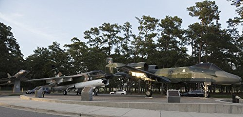 Photo | Exhibit at Warbird Park, a park and memorial to those who served at the long-running Myrtle Beach Air Force Base that was deactivated in 1993 in Myrtle Beach, South Carolina 2 66in x 44in