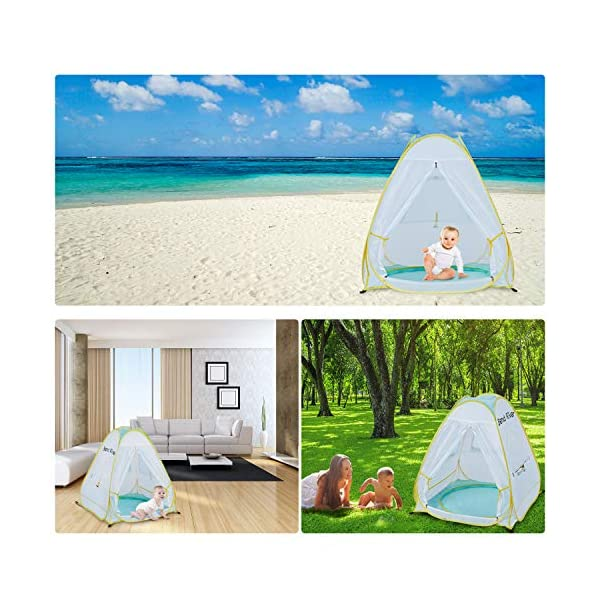 Best Bend River Tent 2021 - Baby Sun Shelter with Pool