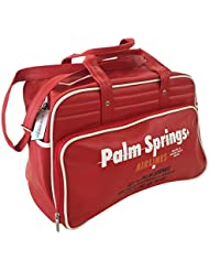 Palm Springs Airlines Vintage Weekender Bag