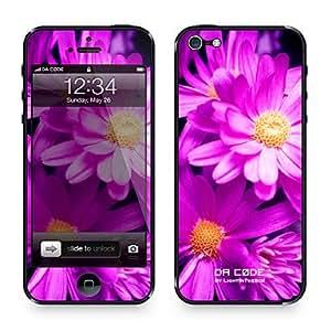 """margaritas moradas"" (serie de plantas): Piel de 5/5s iphone da código ™"