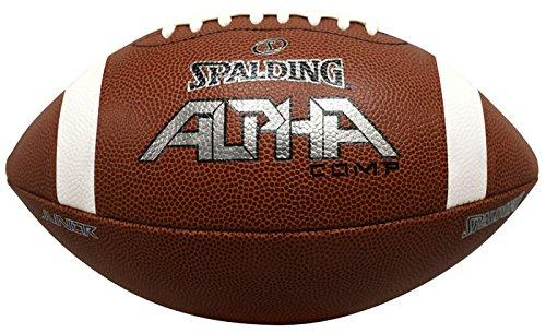 Spalding Alpha Composite Football, Brown, Junior