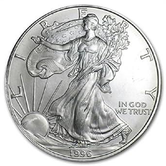 2001 Silver Dollar Coin ~ 1 troy oz AMERICAN EAGLE ~ Walking Liberty .999 Fine
