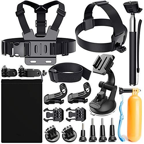 Accessories for Gopro, MRMASS Action Camera mounts for Gopro Hero 7 Hero 2018 Hero 6 Hero 4 Hero 5 Session AKASO EK7000 EK5000