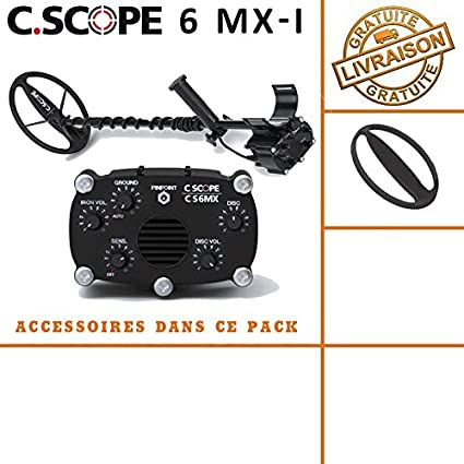 Detector de metales CS 6MX con protege disco