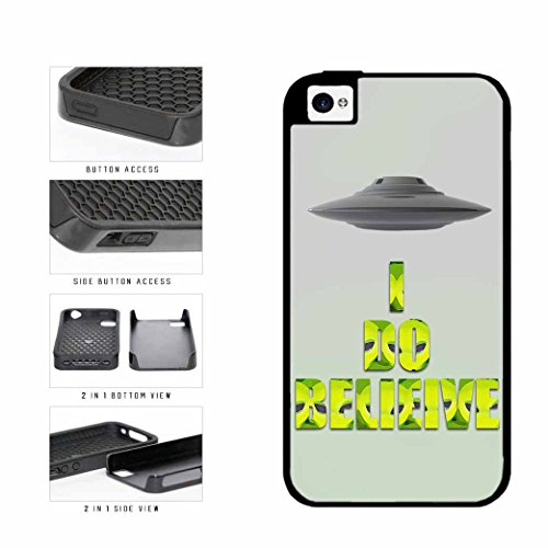 BleuReign(TM) Super Natural I Believe In Aliens Dual Layer Phone Case Back Cover Apple iPhone 4 4s (4s Galaxy Cases Supernatural)