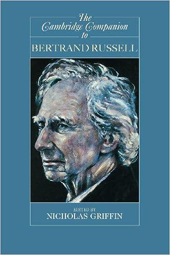 Amazon Com The Cambridge Companion To Bertrand Russell Cambridge Companions To Philosophy 9780521636346 Griffin Nicholas Books