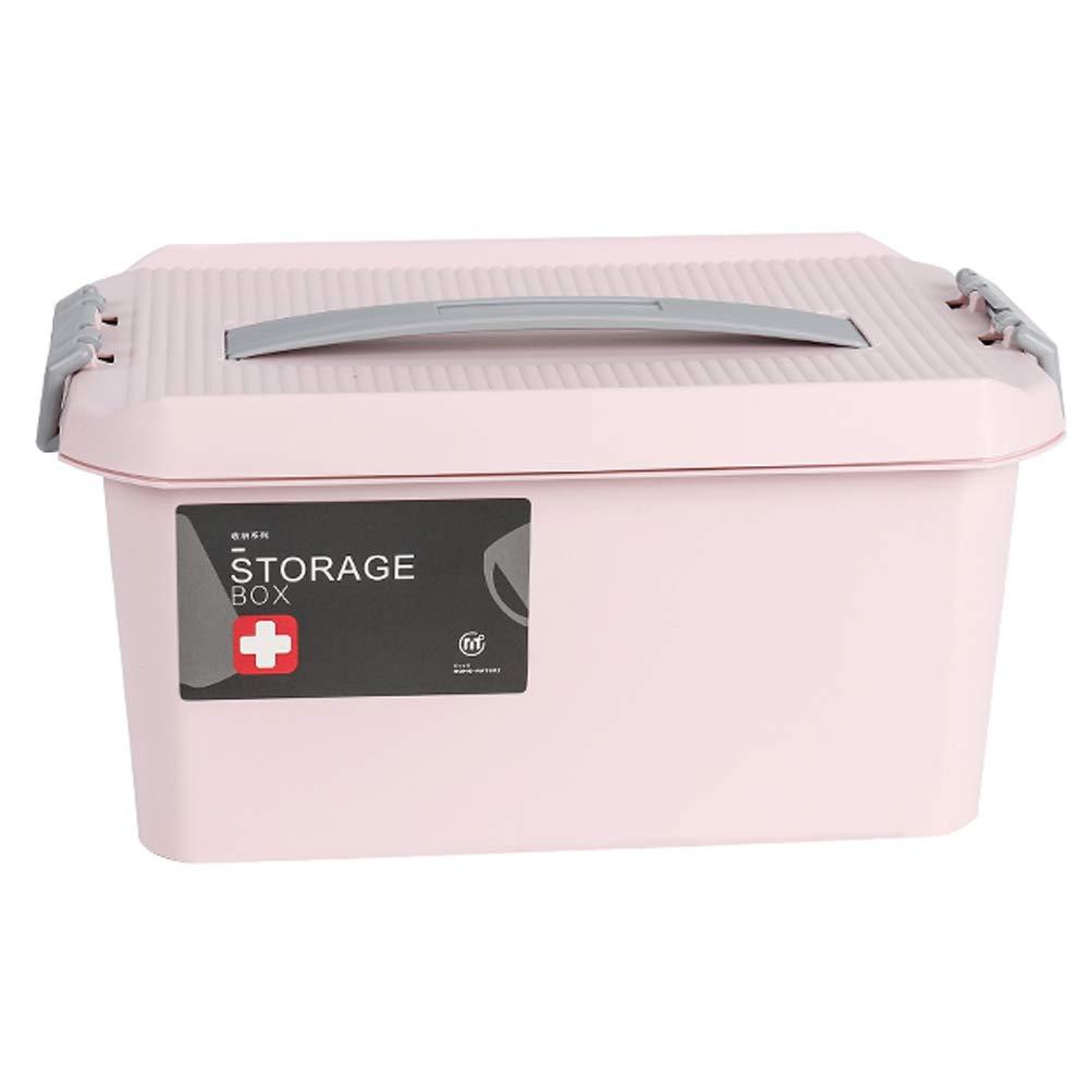 非常に高い品質 YD Pink 救急箱 医療ボックス-PP材料、ポータブルポータブル大容量多層防湿防塵、家庭用薬ボックススーツケース子供緊急医療ボックス旅行ポータブル医療ボックス薬収納ボックス サイズ 29*19*14.5 - 2色、3サイズ/& (色 : Pink, サイズ さいず : 34.5*23*17.5) B07PNF8K1T 29*19*14.5|Pink Pink 29*19*14.5, 卯月:decbaa9b --- arianechie.dominiotemporario.com