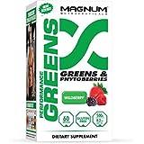 Magnum Nutraceuticals Performance Greens Supplement, 500 Gram
