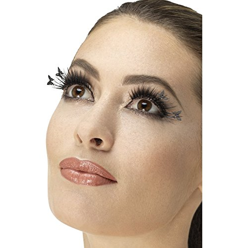 Smiffy's 47060 Winged Butterfly Eyelashes (one