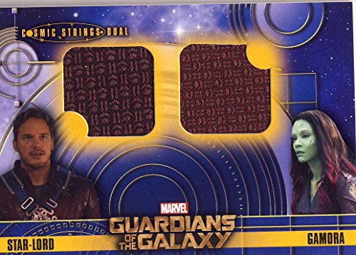 2014 Guardians of the Galaxy Trading Card Set Wardrobe Cosmic Strings Dual CSD-1
