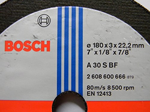 Bosch AG7 Metal 7-inch Cut Off Wheel Set (Multicolor, Pack of 5) 2