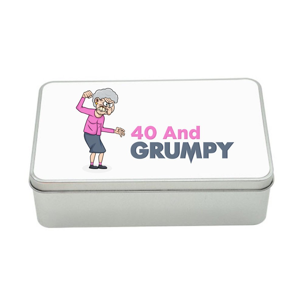 40th Birthday, Keepsake, Tin Funny Gift, Novelty Gift Box, Tin For Women, Gift Idea Design Invent Print!