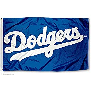 Amazon.com : MLB Los Angeles Dodgers Flag 3x5 Banner