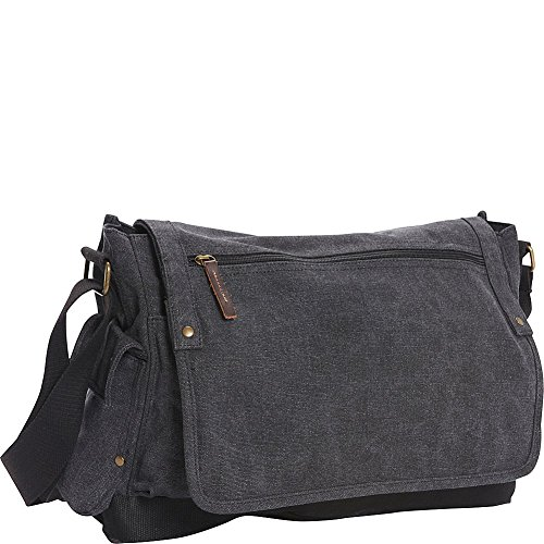 vagabond-traveler-casual-style-canvas-messenger-bag-grey