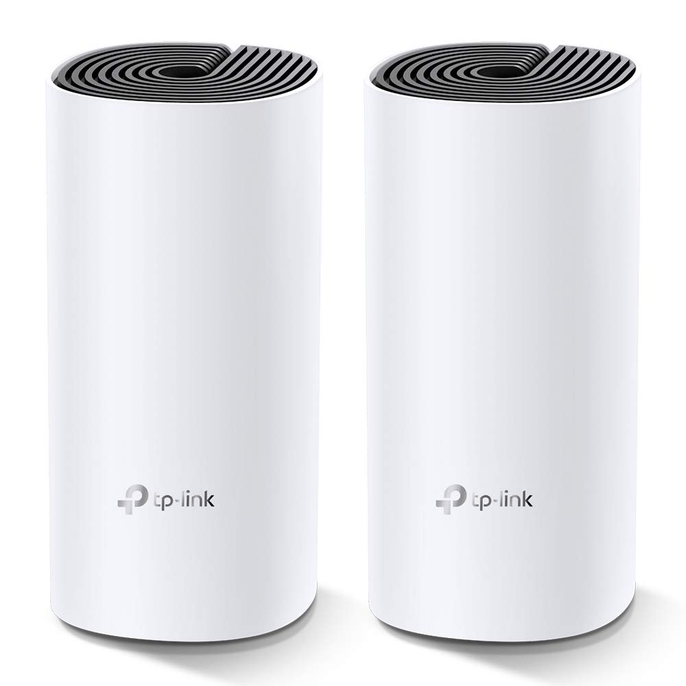 TP-Link Deco M4 AC1200 Whole Home Mesh Wi-Fi System (White, Pack Of 2)