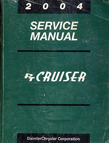 2004 Chrysler PT Cruiser Service Repair Shop Manual Factory OEM Book