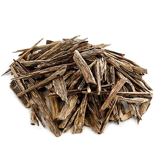 SWISSARABIAN Indian Oud Wood (Agarwood), Natural Aloeswood Oudh Chips for use with Charcoal or Electric Incense Burner ¼ Tola from The House of Swiss Arabian (3g)